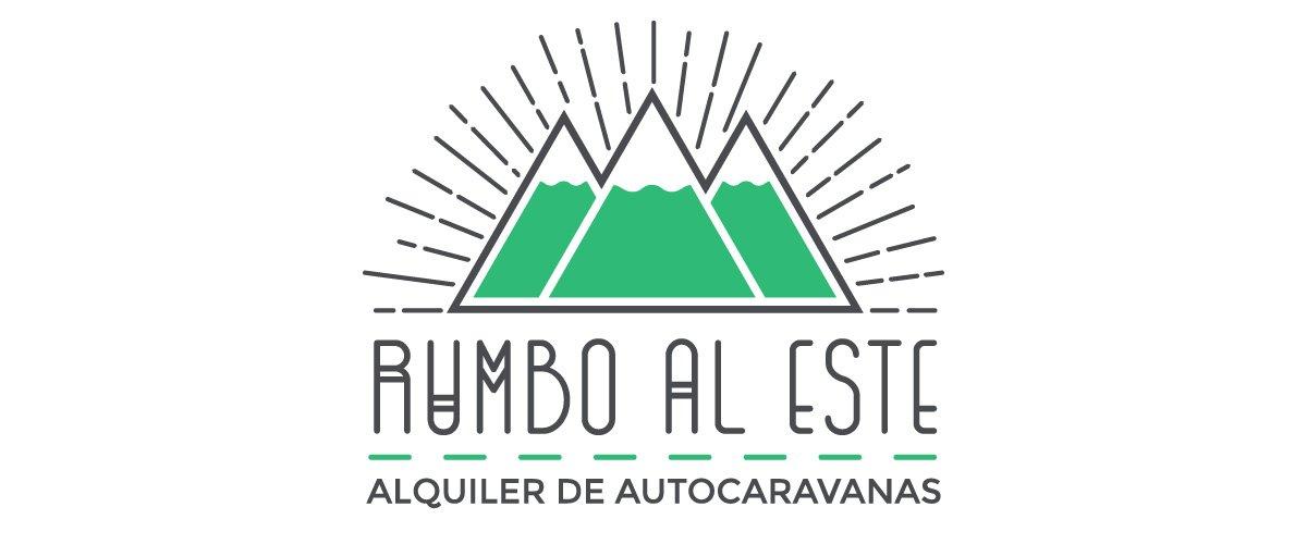 Logotipo Rumbo el Este Alquiler de Autocarvanas Barcelona