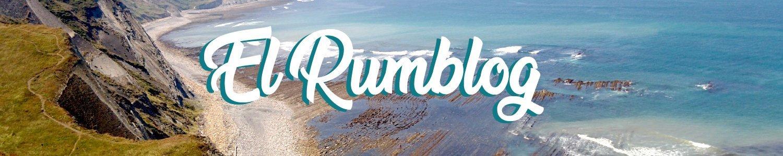 Cabecera de El Rumblog con playa de fondo