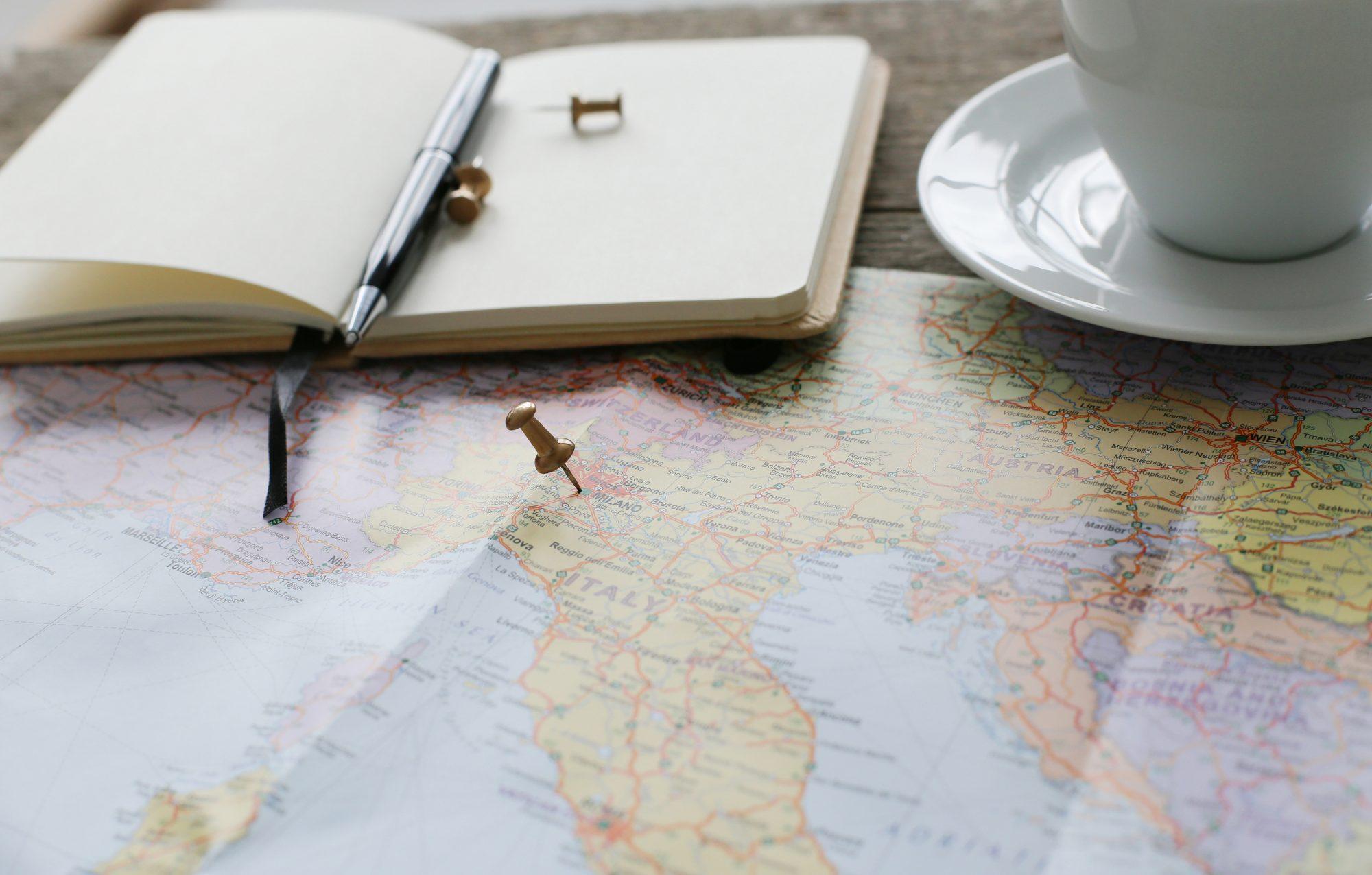 mapa planificar ruta