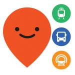 Logo app moovit