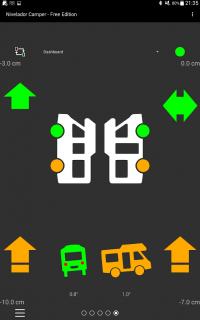 pantalla nivelador camper