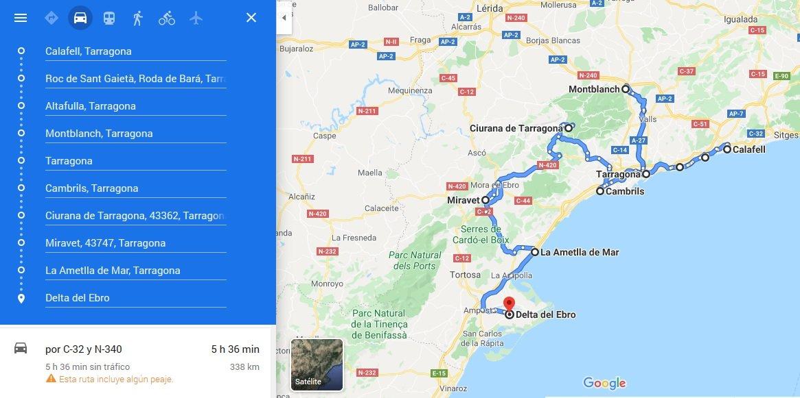 Ruta Tarragona